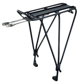 Topeak Topeak Rear Rack Explorer MTX/RX (B-Type) - 55 Ibs Max, Disc Compatible, Black