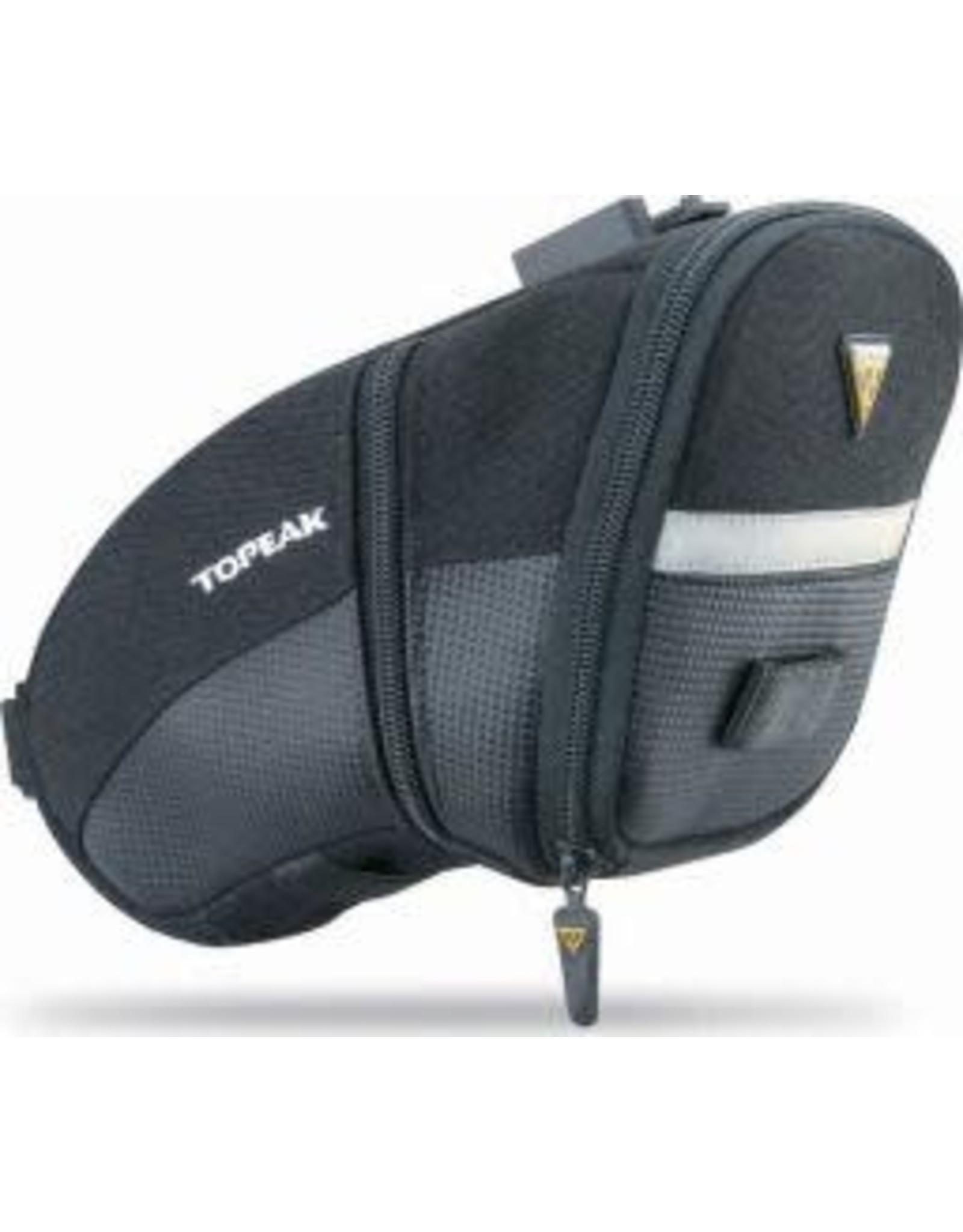 Topeak Topeak Aero Wedge quick click,black large seat bag