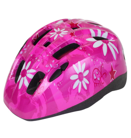 J & B Importers Aerius Xanthus V11iF Toddler Pink Flowers Helmet X-Small