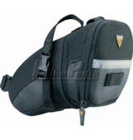 Topeak Topeak Aero Wedge Seat Bag - Black, Large w/ Strap