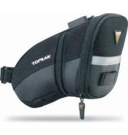 Topeak Topeak Aero Wedge Seat Bag - Black, Medium w/ QR