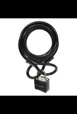 Sunlite Sunlite Key Pad Lock & Cable - Black