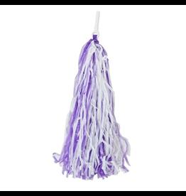 Sunlite Purple handlebar streamers