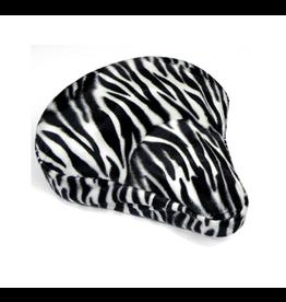 Cruiser Candy White Zebra Bike Seat Cover