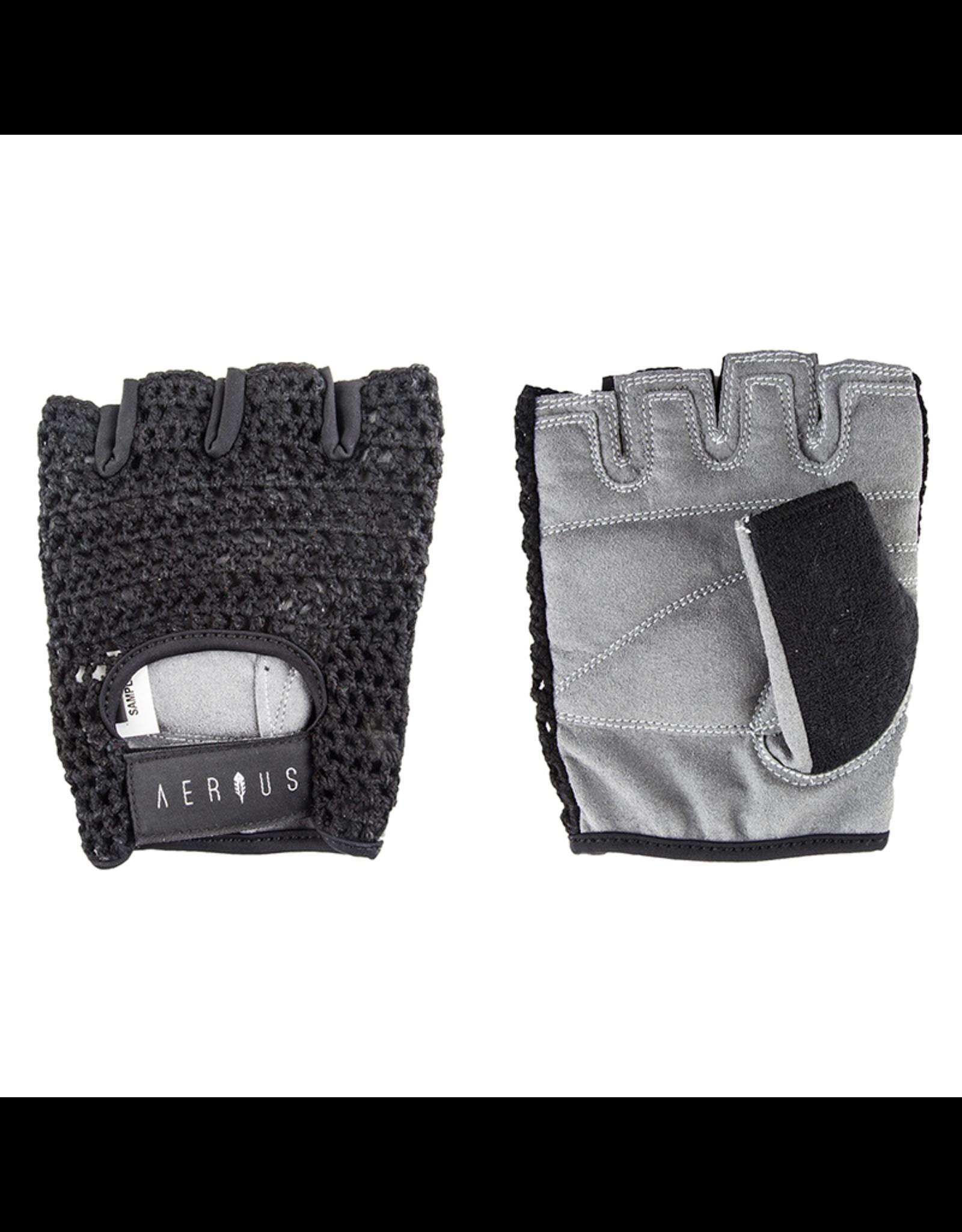 Airius Aerius Retro Mesh Gloves - Black, Large