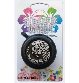 Cruiser Candy Cruiser Candy Bell - Black White Hibiscus