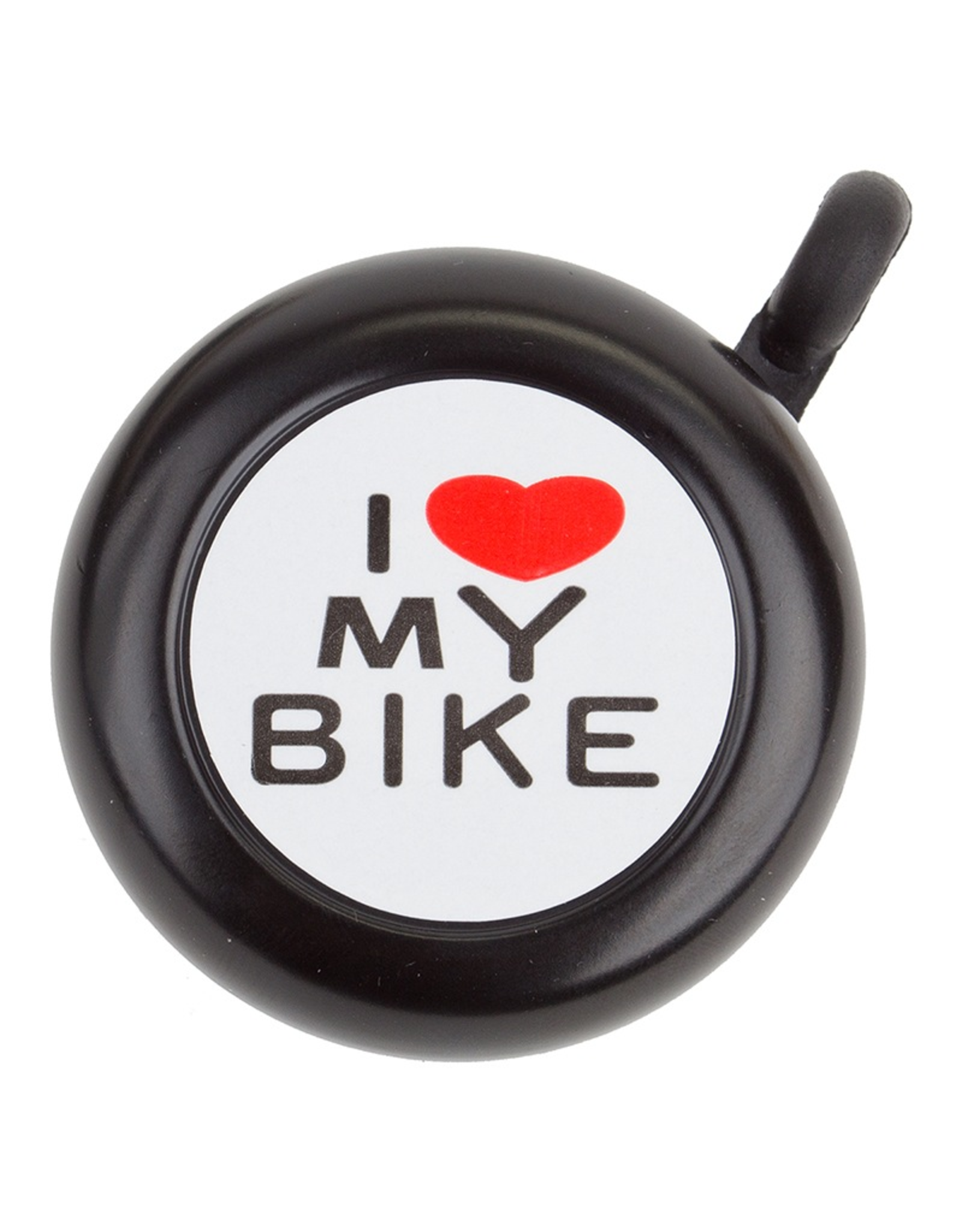 """Sunlite Sunlite Bell - I """"Heart"""" My Bike Black"""
