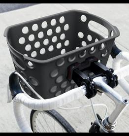 KHS Bikase Front Basket - Bessie, QR, Black