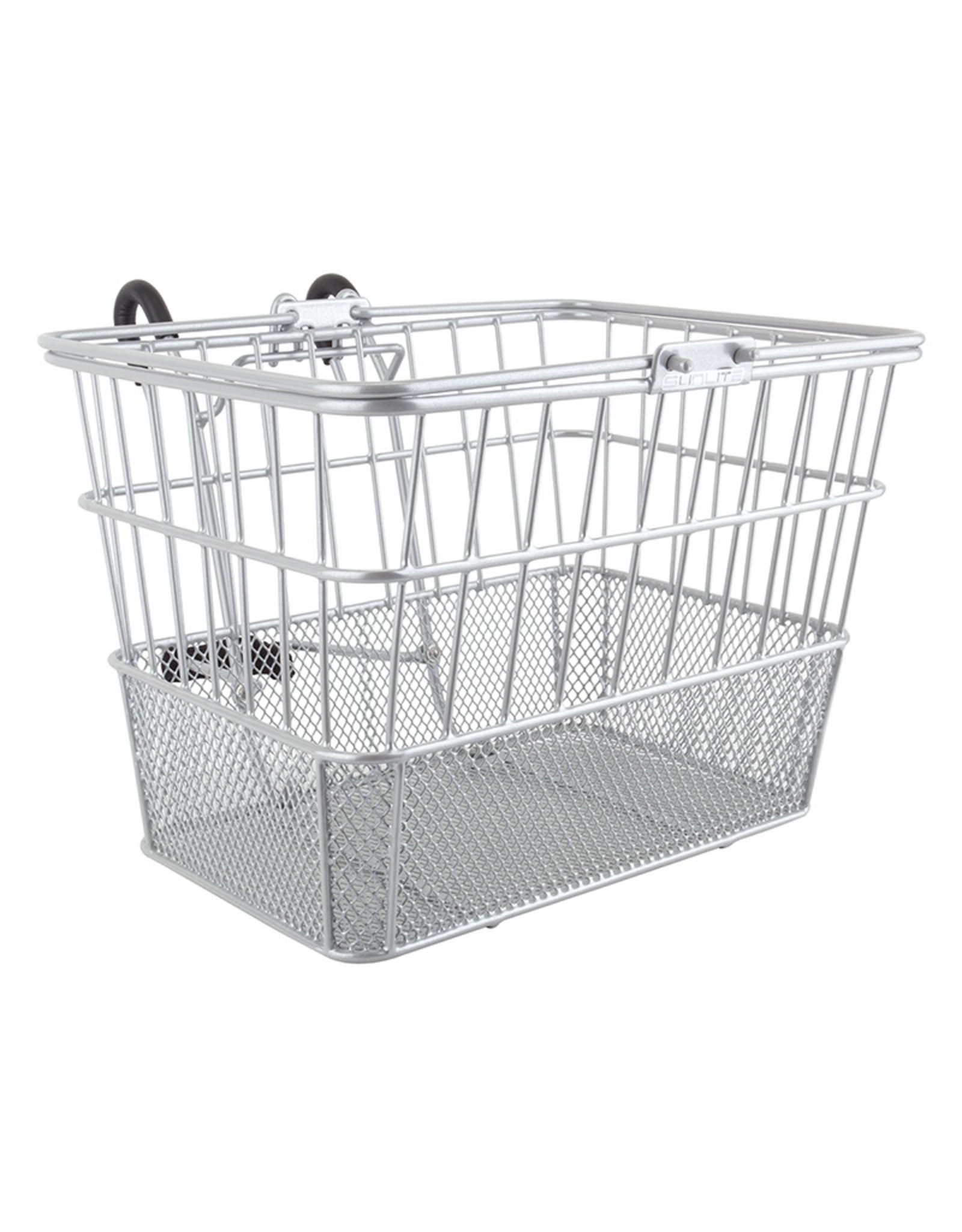 Sunlite Sunlite/Ultracycle Front Basket - Mesh Bottom Lift-Off, Silver