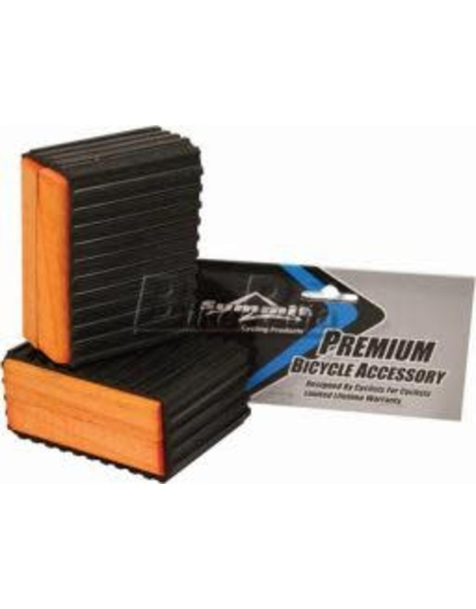 "J & B Importers 1-1/2"" Sunlite - Wood, Pedal Blocks"