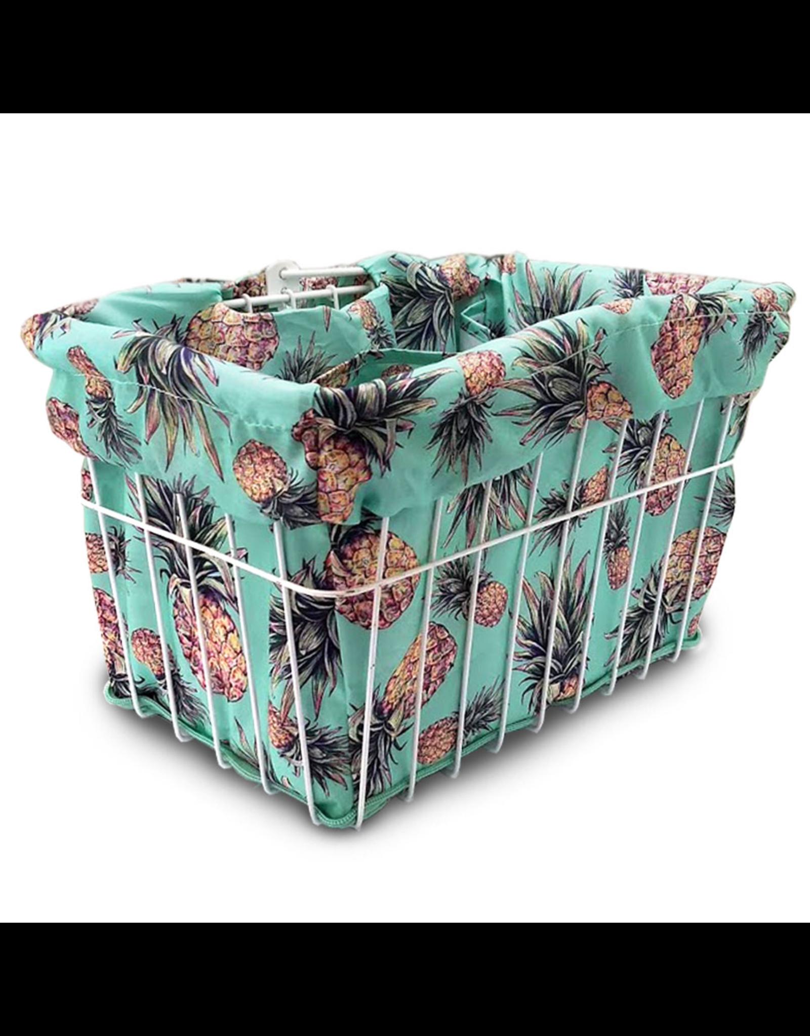 Cruiser Candy Cruiser Candy Basket Liner - Pineapple Fantasy