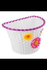 Sunlite Sunlite Front Basket - Classic Synthetic Flower