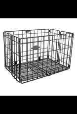Sunlite SunLite Folding Basket, Black, Mesh Bottom