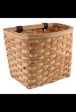 J & B Importers Sunlite Front Basket - Beech Wood Woven, Natural