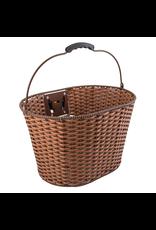 Sunlite Sunlite Front Basket - Rattan QR Wicker With Bracket, Brown