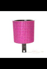 Cruiser Candy Cruiser Candy Rhinestone Drink Holder - Hot Pink and Black