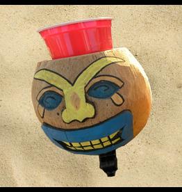 Cruiser Candy Cruiser Candy Coconut Drink Holder - Sad Face