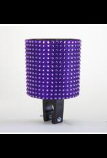 Cruiser Candy Cruiser Candy Rhinestone Drink Holder - Purple Black