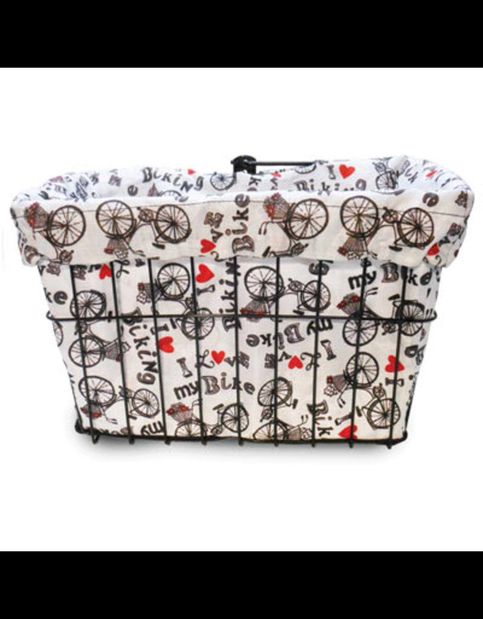 Cruiser Candy Cruiser Candy Basket Liner - I Love My Bike