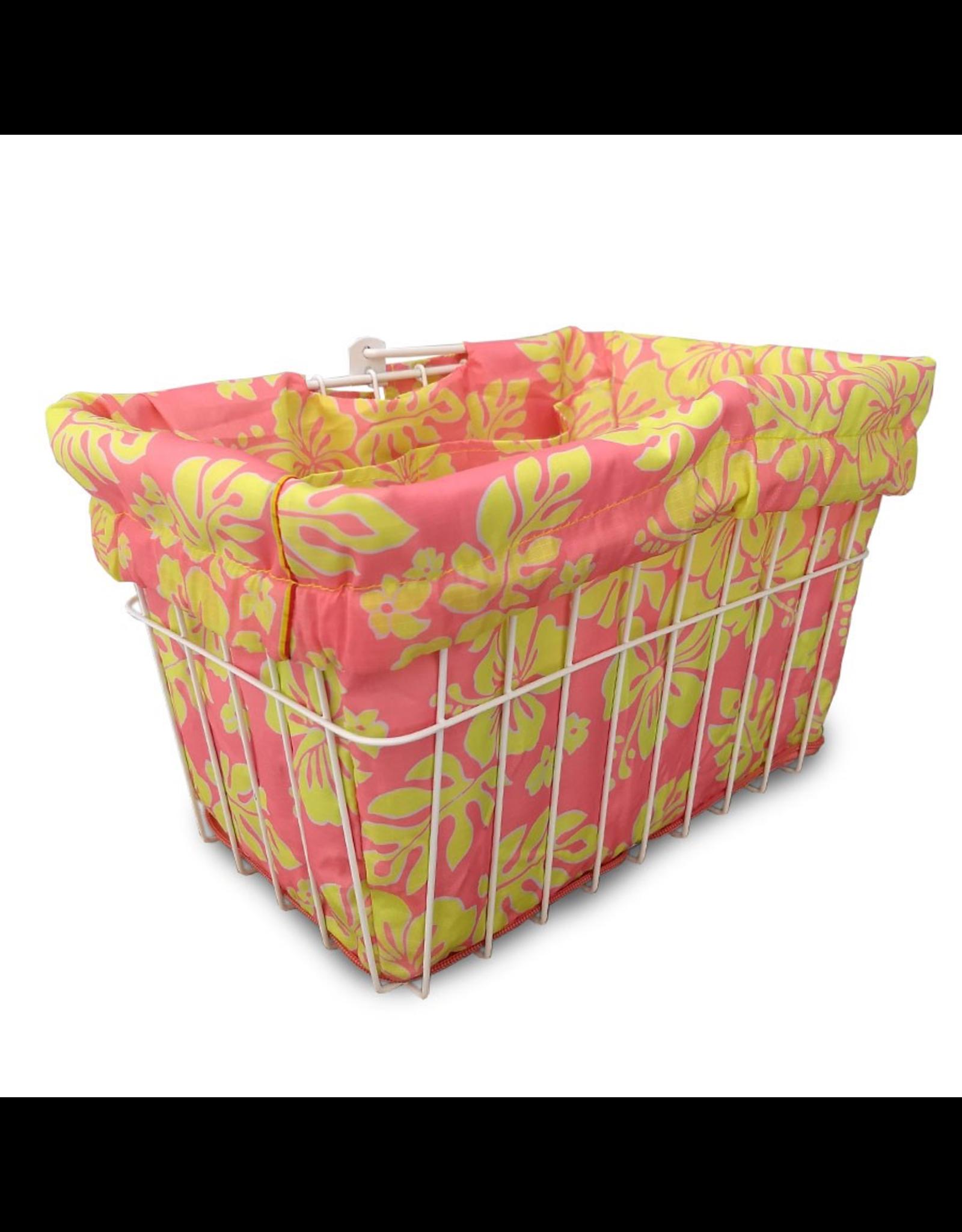 Cruiser Candy Cruiser Candy Basket Liner - Pink Lemonade Hibiscus