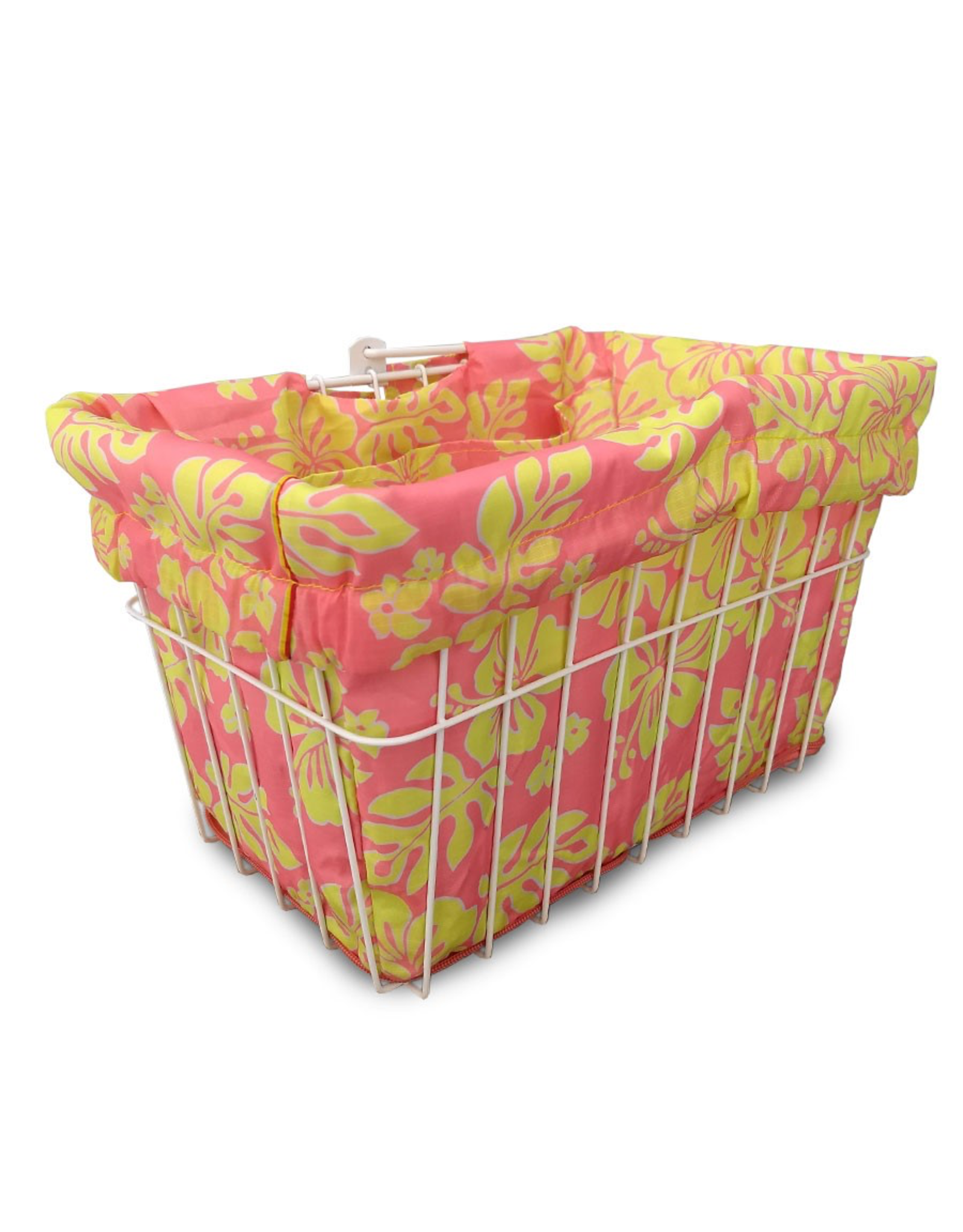 Cruiser Candy Pink Lemonade Hibiscus Basket Liner