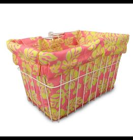 Cruiser Candy Pink Lemonade Hibiscus Basket Liner