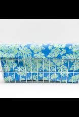 Cruiser Candy Cruiser Candy Large Basket Trike Liner - Blue/Green Hibiscus