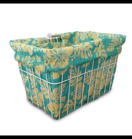Cruiser Candy Honey Dew Hibiscus Basket Liner