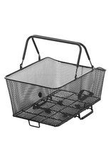 Sunlite Sunlite Rear Rack Top Mesh QR Grocery Basket Black