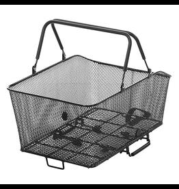 Sunlite Sunlite Rear Basket - Rack Top Mesh QR, Grocery, Black