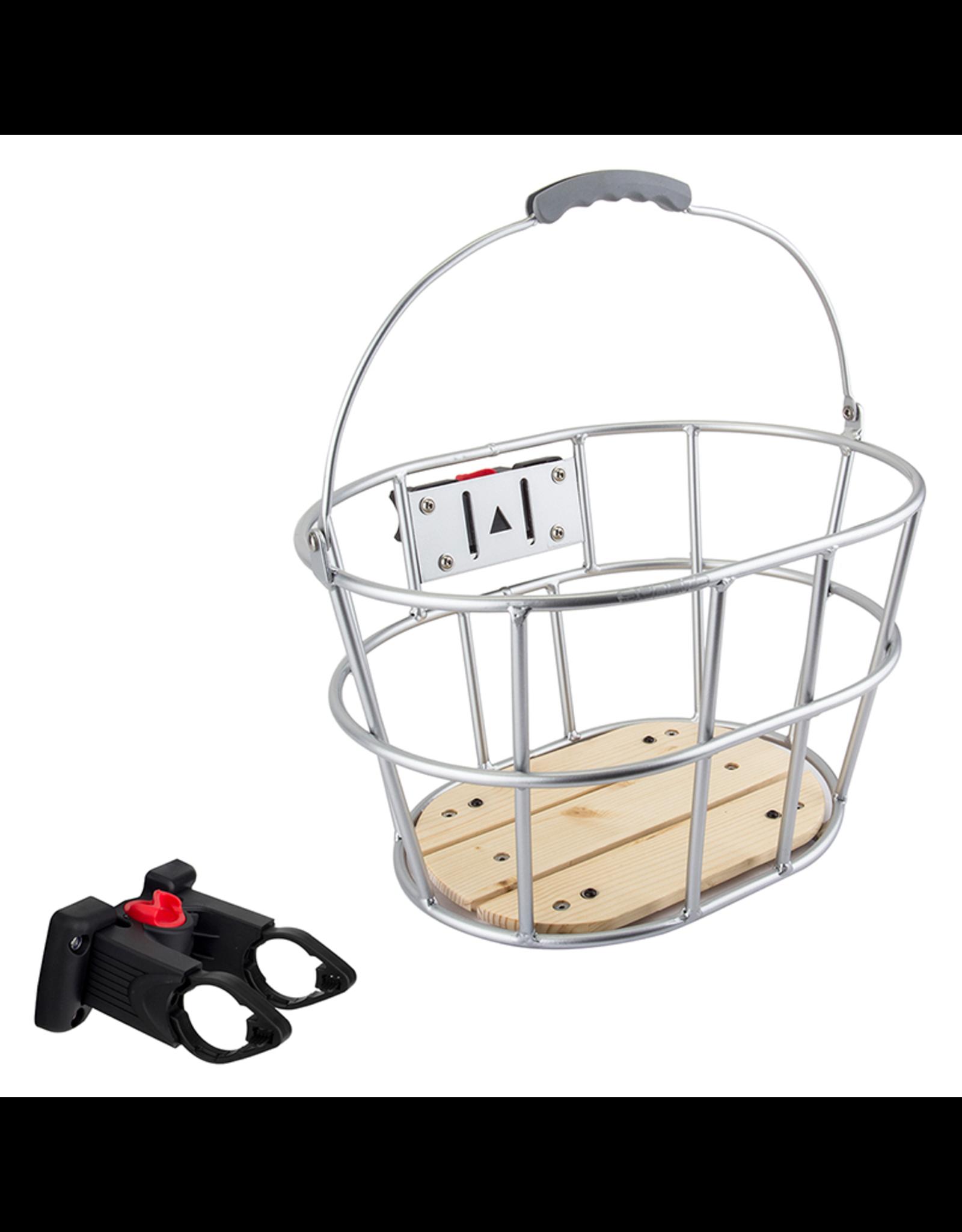 Sunlite Woody QR Release Front Basket