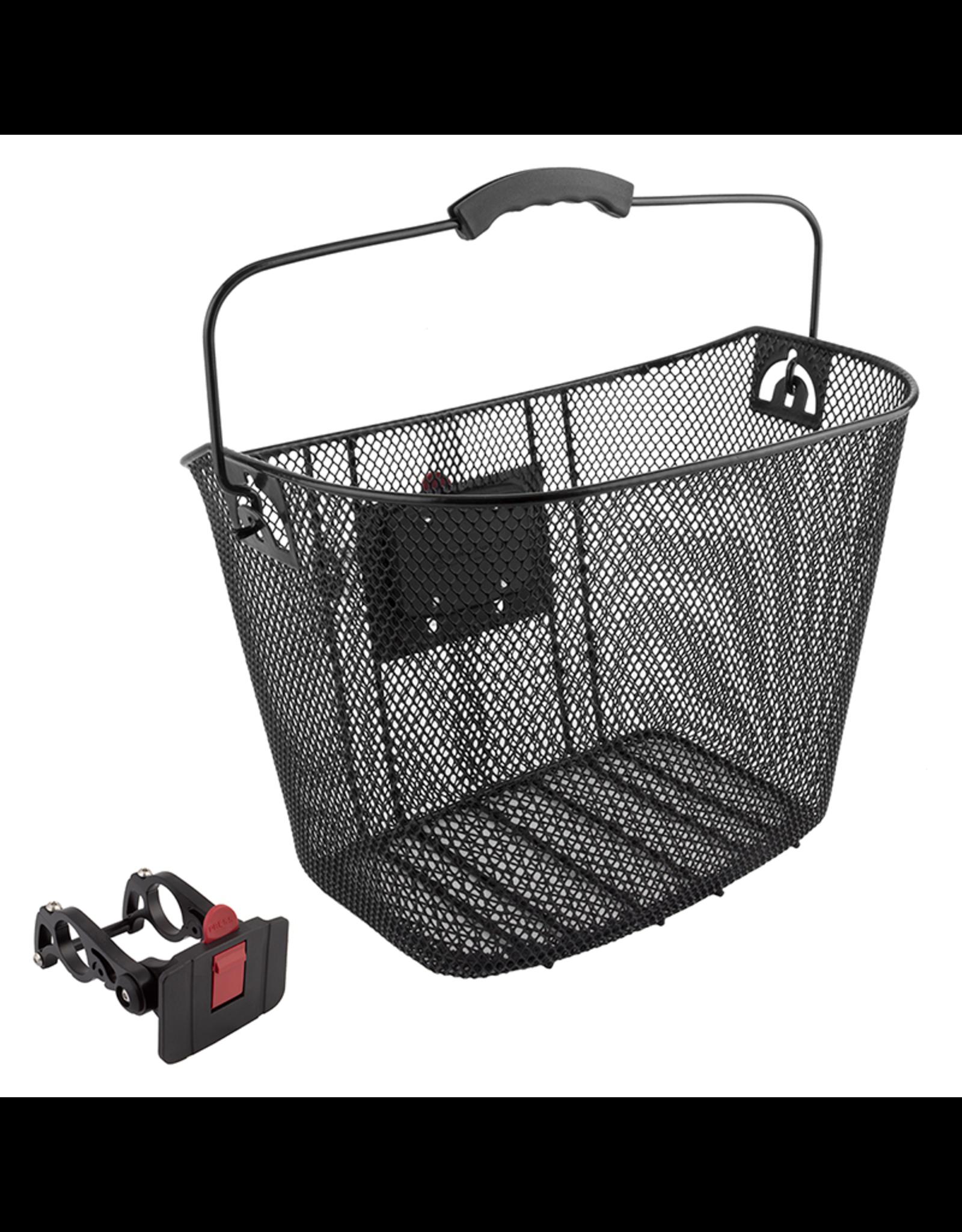 Sunlite Sunlite Front Basket - Mesh QR, Black
