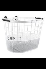 Sunlite Sunlite Front Basket - Mesh Bottom Lift-Off, Oval, White