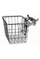 Wald Wald Front Basket - Removable With Permanent QR Bracket, Black