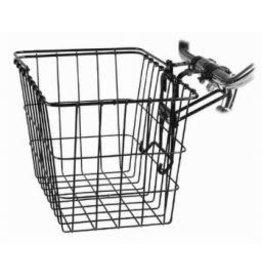 Wald Wald removable basket #3133 w/permanent bracket, black