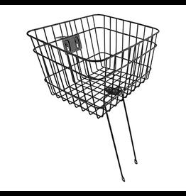 """Sunlite Sunlite Front Basket - Bolt-On, Large (14.5x12x9.5""""), Black,"""