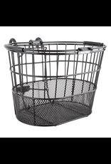 Sunlite Sunlite Front Basket - Mesh Bottom Lift-Off, Oval, Black