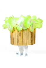 Cruiser Candy Green Tiki Cute Cup Drink Holder