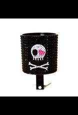 Cruiser Candy Cruiser Candy Rhinestone Drink Holder - Skull