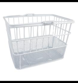 Sunlite Sunlite/Ultracycle Front Basket - Mesh Bottom Lift-Off, White