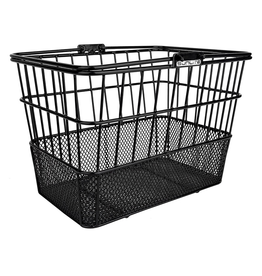 Sunlite SunLite/Ultracycle Mesh Bottom Lift-Off Basket Black