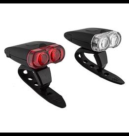 Sunlite SunLite Rechargeable 2 LED Light Combo Set