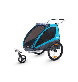 KHS Thule Coaster Bike Trailer, Blue