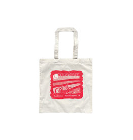 Hermosa Cyclery Hermosa Cyclery Reusable Red Tote Bag