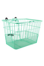 Sunlite Sunlite/Ultracycle Front Basket - Mesh Bottom Lift-Off, Sea Foam Green