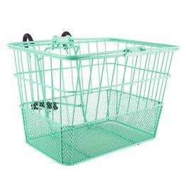 Sunlite Sunlite/Ultracycle Front Basket - Mesh Bottom Lift-Off, Green