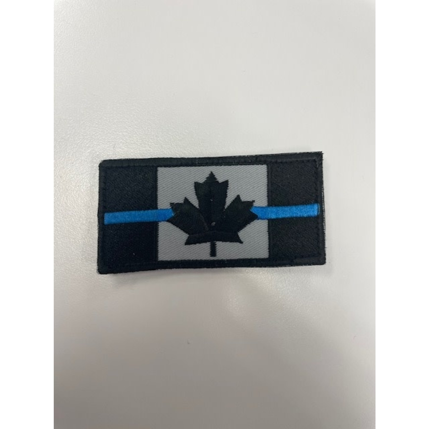 306 Tactical Thin Blue Line Canada Flag Patch (large)