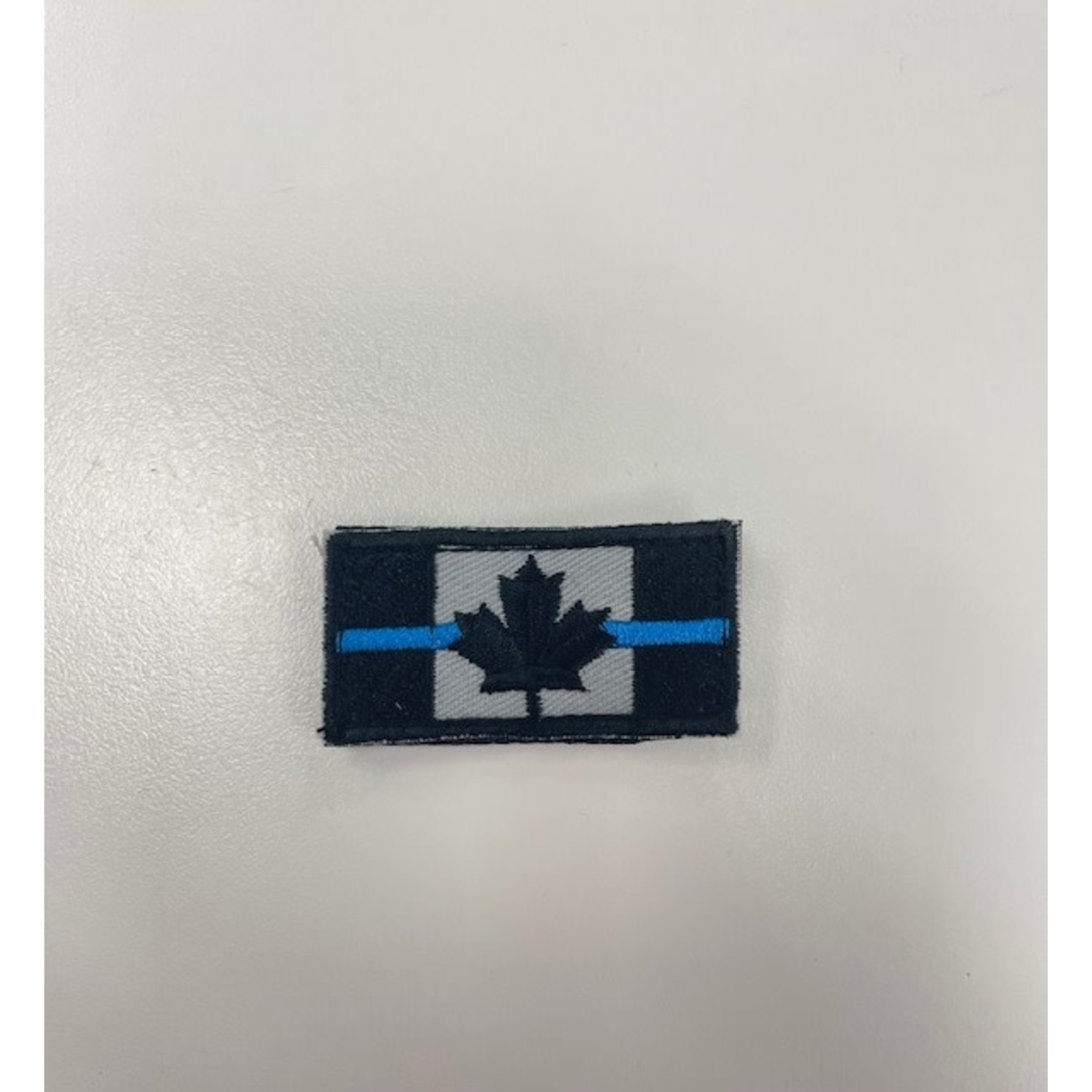 306 Tactical Thin Blue Line  Canada Flag Patch (small)