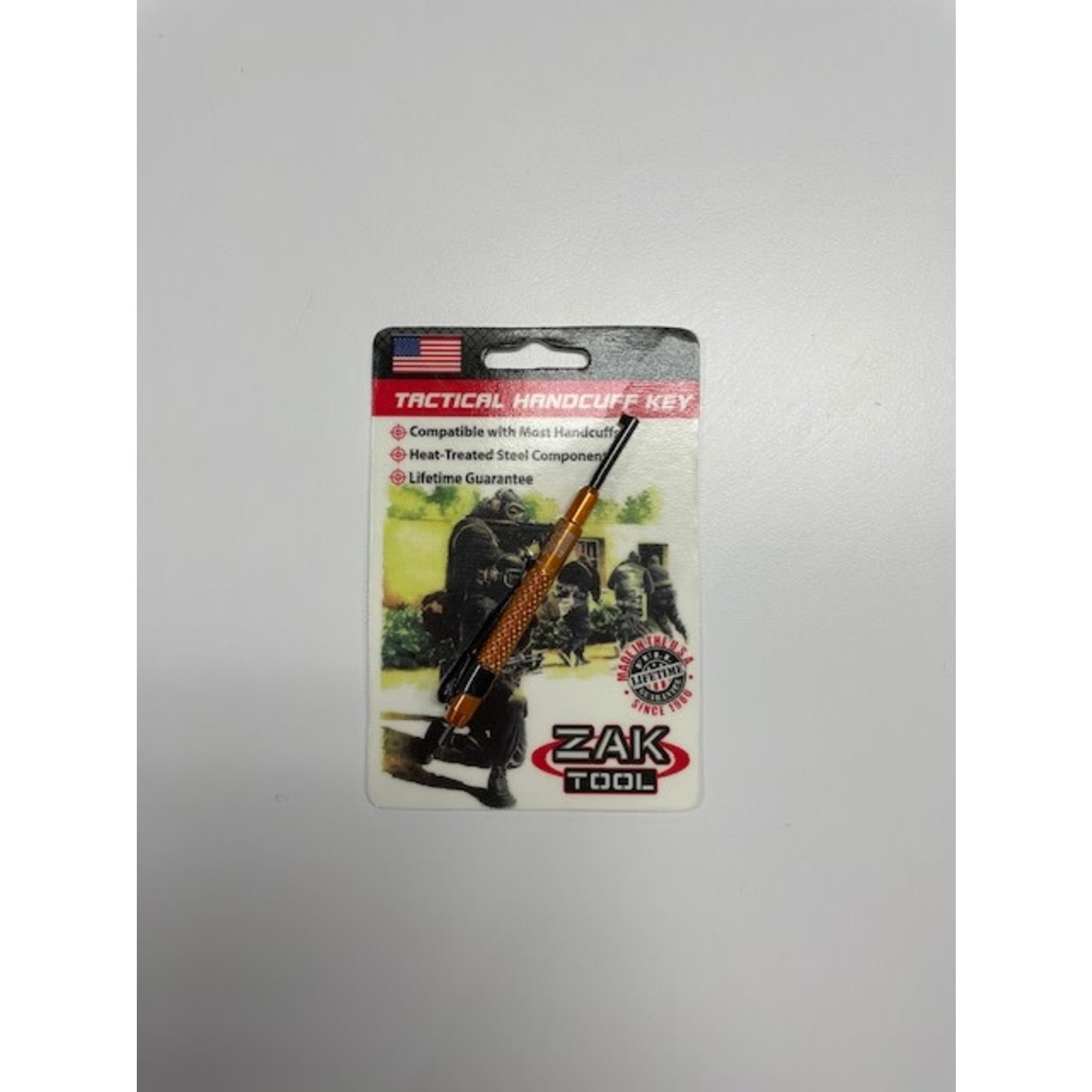 Zak Tool Zak Tool - ZT13-ORN Tactical Handcuff Key