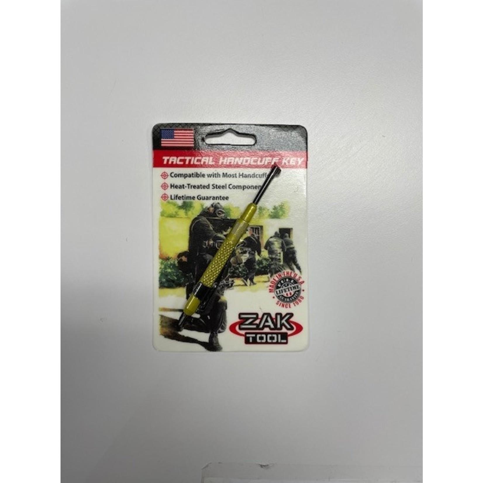 Zak Tool Zak Tool- ZT13-YLW Tactical Handcuff Key